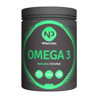 NP Nutrition Omega 3 Fischöl – 350 Softgels